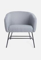 Sixth Floor - Ramsey resting chair - light grey