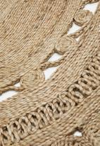 Sixth Floor - Liyana jute rug - natural