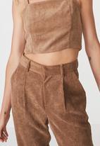 Cotton On - Harley pants - brown