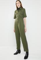Superbalist - Utility jumpsuit - khaki green