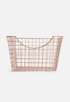 Sixth Floor - Wired scoop basket - copper