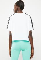 KAPPA - Banda T-shirt - white
