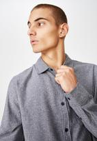 Cotton On - Rugged long sleeve shirt  - grey