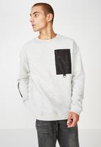 Cotton On - Drop shoulder - grey