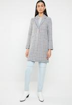 ONLY - Isa bonded wool coat - multi