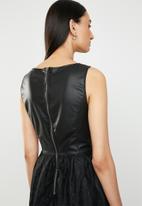 ONLY - Stella lace dress - black