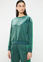 ONLY - Misty sweatshirt - green