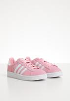 adidas Originals - Campus c - pink & white