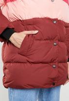 ONLY - Mari blocked padded coat - multi