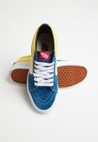 Vans - Vans Sk8-mid - blue & yellow