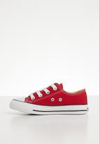 SOVIET - Viper kids  low cut sneaker - red