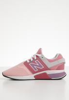 New Balance  - 247 V2 tweens sneaker - pink