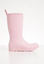 Hunter - Play boot tall - pink