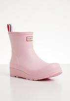 Hunter - Play boot short - pink