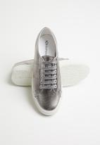 SUPERGA - 2750 cotu metallic croc print bling lo - 980 grey