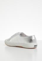 SUPERGA - 2750 Pu metallic foil - 031 grey silver