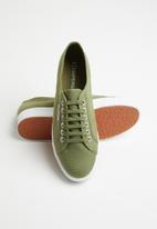 SUPERGA - 2730 Cotu canvas mid wedge - j26 green cap olive