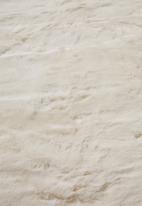 Fotakis - Eli faux fur rug - cream