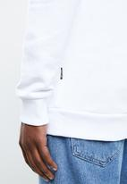 Only & Sons - Stam crew neck sweater - white