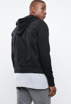 Only & Sons - Coin hood trucker black pk 2059 - black