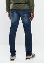 GUESS - Slim taper jeans - blue
