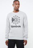 Reebok - Ac ft big starcrest crew - grey