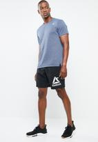 Reebok - Wor woven graphic short - black
