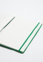 Typo - A4 green cactus buffalo journal - green