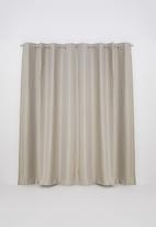 Sixth Floor - Self lined eyelet curtain - natural