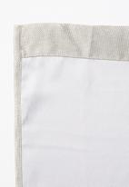 Sixth Floor - Self lined eyelet curtain - natural