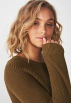 Cotton On - Archy pullover - brown