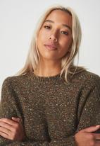 Cotton On - Jeri batwing pullover - khaki