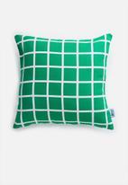 Sixth Floor - Mavek cushion cover - green