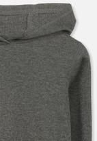Cotton On - Hayden hooded top - charcoal