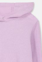 Cotton On - Hayden hooded top - purple