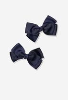 Cotton On - Hair clips - navy