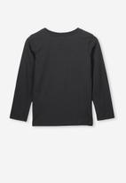 Cotton On - Anna tee - black