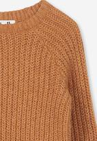 Cotton On - Sophia knit jumper - brown