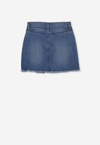Cotton On - Finn denim skirt - blue
