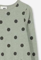 Cotton On - Joss long sleeve dress - light green