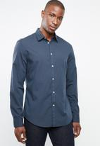 STYLE REPUBLIC - Button-up long sleeve shirt - blue