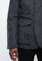STYLE REPUBLIC - Zip-up blazer - grey