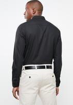 Pringle of Scotland - Niall styled shirt - black