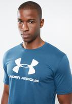 Under Armour - Sportstyle logo tee - blue