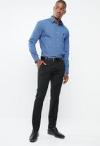 Pringle of Scotland - Norwell styled fit shirt - navy