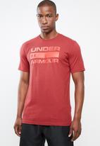 Under Armour - Ua team issue wordmark - burgundy