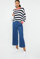 ONLY - Hilde long sleeve stripe pullover - multi