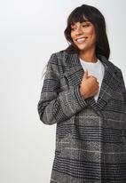 Cotton On - New mid-length coat - black