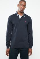 POLO - Tipped golfer - navy