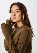 Cotton On - Rae luxe pullover - brown